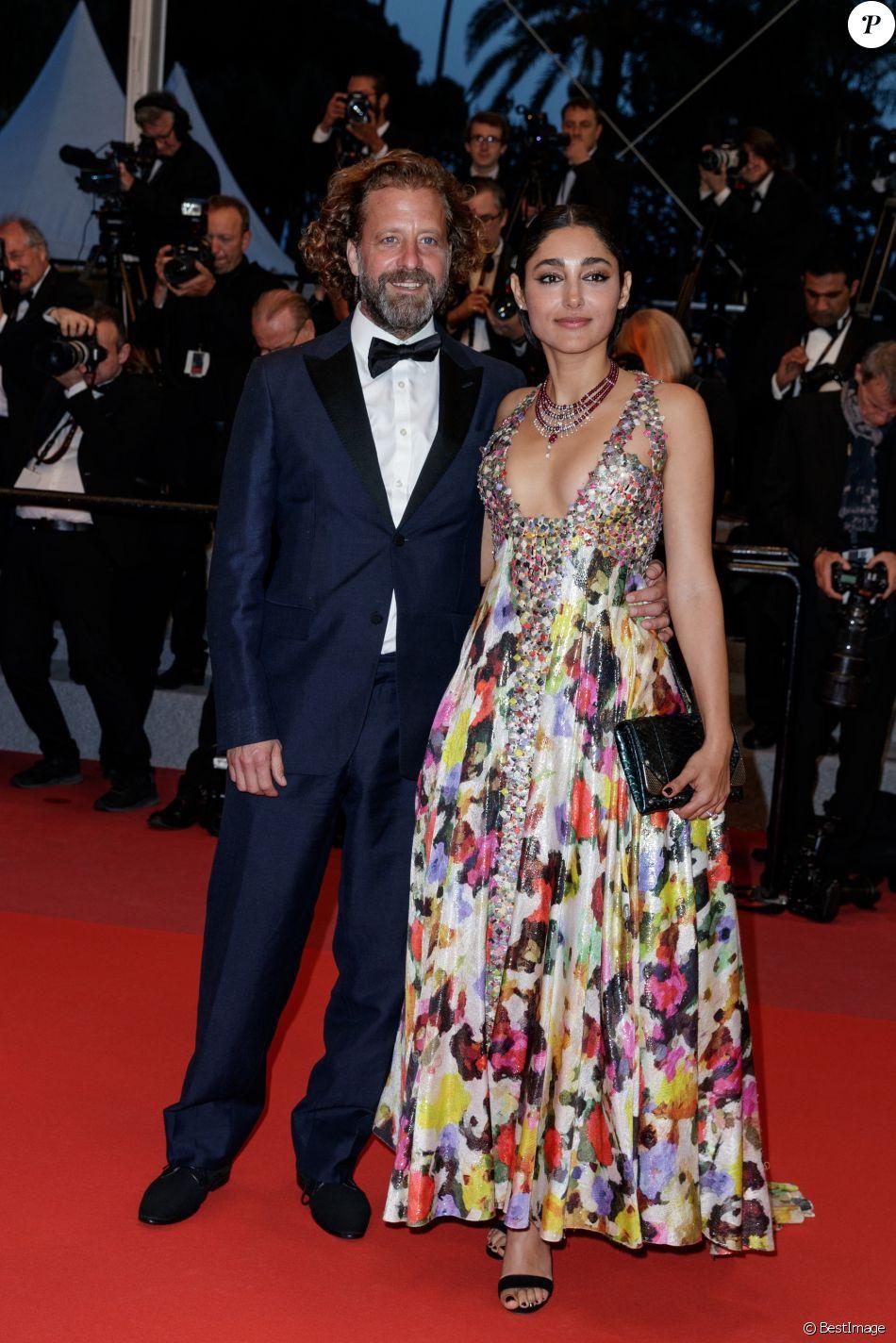 Christos Walker et Golshifteh Farahani (collier Cartier) lors du 71ème Festival International du Film de Cannes. Le 12 mai 2018 © Borde-Jacovides-Moreau/Bestimage