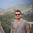 Howie Day sur la Muraille de Chine, photo Instagram septembre 2014