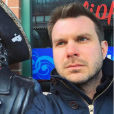 Howie Day, photo Instagram en mars 2017 à Pittsburgh