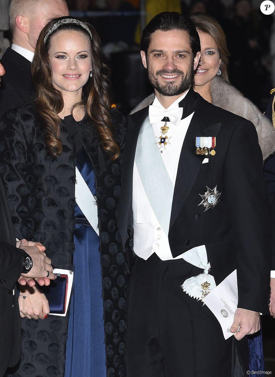 La princesse Sofia et le prince Carl Philip de Suède lors ...