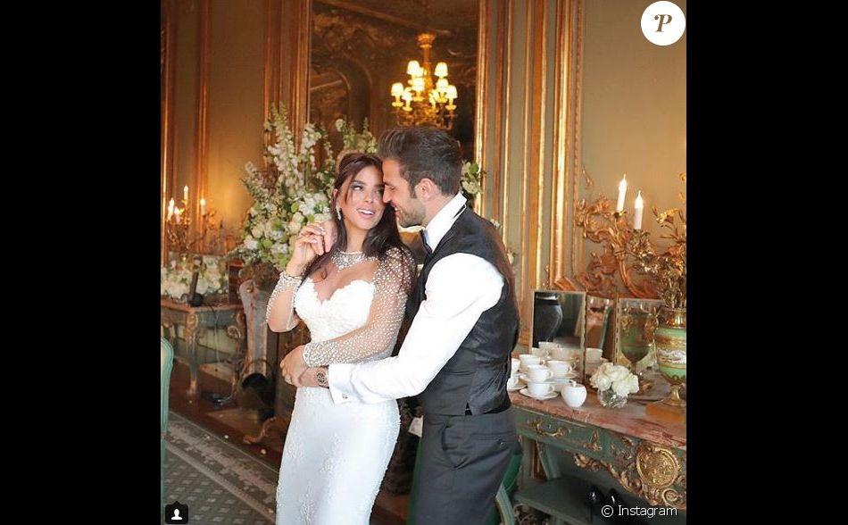 Cesc Fabregas a épousé Daniella Semaan le 15 mai 2018 à Londres.