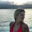 Emilie Picch sportive en Guadeloupe, le 4 janvier 2018.