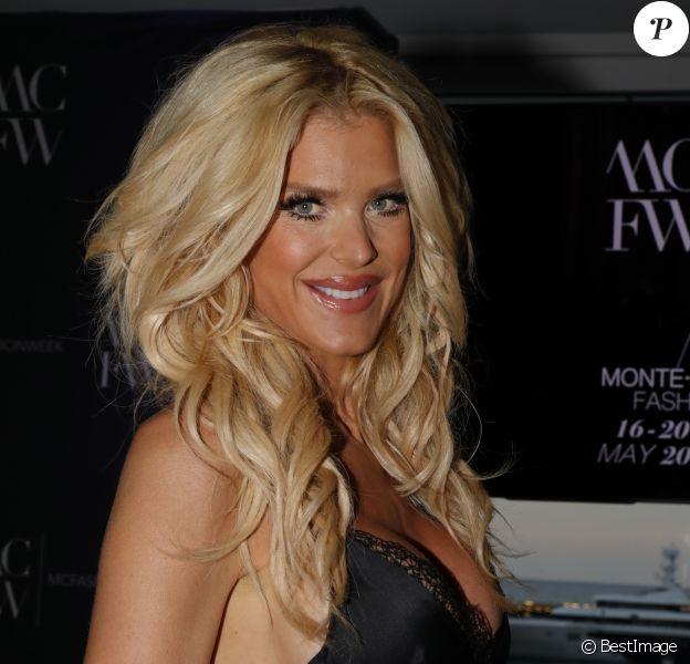 Victoria Silvstedt - Dîner de gala de la 6ème édition de la Fashion Week Monte-Carlo à Monaco le 16 mai 2018. © Claudia Albuquerque/Bestimage