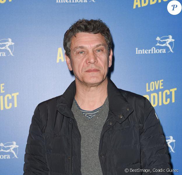"""Marc Lavoine - Avant-première du film """"Love Addict"""" au cinéma Gaumont Champs-Elysées Marignan à Paris, le 16 avril 2018. © Coadic Guirec/Bestimage"""