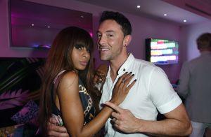 Maxime Dereymez et Mia Frye complices entre deux pas de danse à Cannes