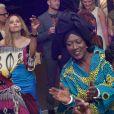 """Exclusif - Khadja Nin (membre du jury), Mata Gabin - After party du collectif DiasporAct sur la plage de l'hôtel Majestic Barrière ans le cadre de la promotion du livre """"Noire n'est pas mon métier"""" lors du 71ème Festival International de Cannes le 16 mai 2018. © CVS/Bestimage"""