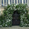 Image de la chapelle St George à Windsor le 19 mai 2018, jour du mariage du prince Harry et de Meghan Markle.