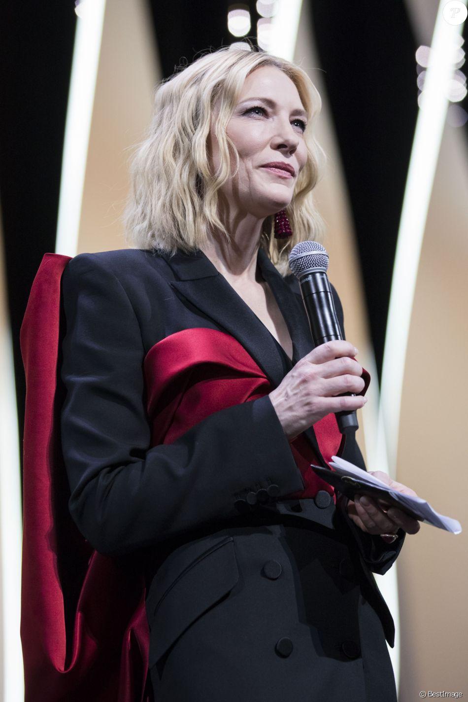 Cate Blanchett - Cérémonie de clôture du 71ème Festival International du Film de Cannes le 19 mai 2018. © Borde / Moreau / Bestimage