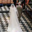 Le prince Charles a conduit Meghan Markle, duchesse de Sussex, à l'autel lors de son mariage avec le prince Harry le 19 mai 2018 à Windsor.