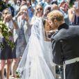 Le prince Harry et la duchesse Meghan de Sussex lors de leur mariage le 19 mai 2018 à Windsor.