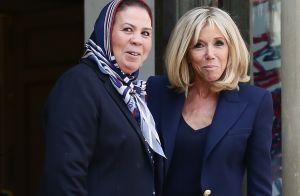 Brigitte Macron, sublime et chaleureuse pour une réunion avec Latifa Ibn Ziaten