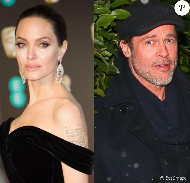 Angelina Jolie et Brad Pitt en 2018.
