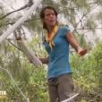"""Clémence lors du dernier épisode de """"Koh-Lanta : Le Combat des héros"""" (TF1) vendredi 25 mai 2018."""