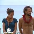 """Clémence, Jérémy et Pascal dans """"Koh-Lanta : Le Combat des héros"""" (TF1) vendredi 25 mai 2018."""