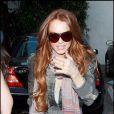 Lindsay Lohan à Beverly Hills. 08/04/09