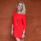 Élodie Gossuin et Inés Sastre radieuses à Roland-Garros