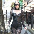 Lady Gaga quitte son appartement à New York. Le 29 mai 2018