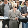 Lady Gaga arrive au studio d'enregistrement Electric Lady Sound à New York, le 28 mai 2018.