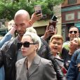 Lady Gaga arrive au studio d'enregistrement Electric Lady Sound à New York, le 28 mai 2018.