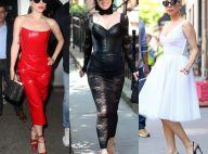 Lady Gaga : Défilé de mode à ciel ouvert avec son chéri Christian Carino