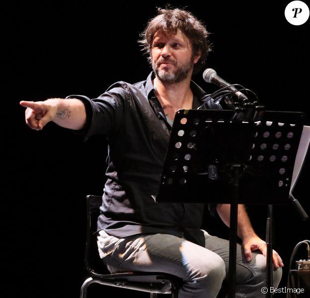 Exclusif - Bertrand Cantat sur scène à Cenon, le 22 septembre 2016. © Patrick Bernard/ Bestimage