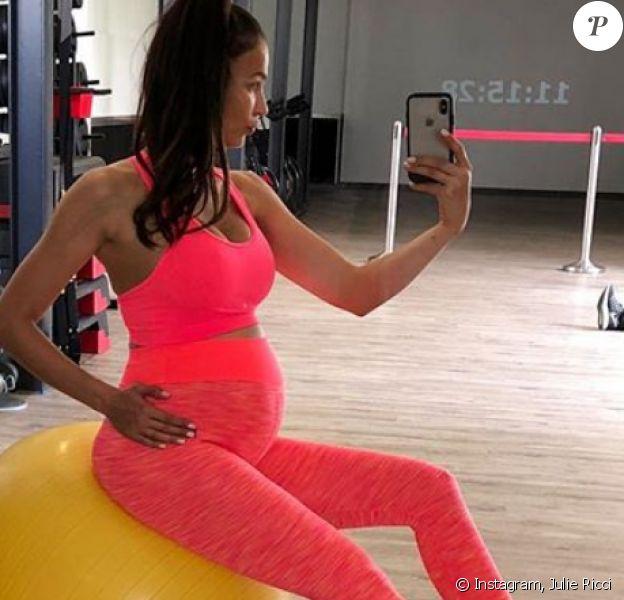 Julie Ricci enceinte de son premier enfant, Instagram, 2 juin 2018