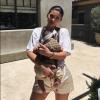 Kylie Jenner : Sa fille Stormi, adorable dans son porte-bébé de luxe