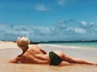 Emmanuelle Berne (Danse avec les stars) : La danseuse hot à la plage...