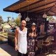 Tara Damiano et son compagnon Franck, Instagram, 2018