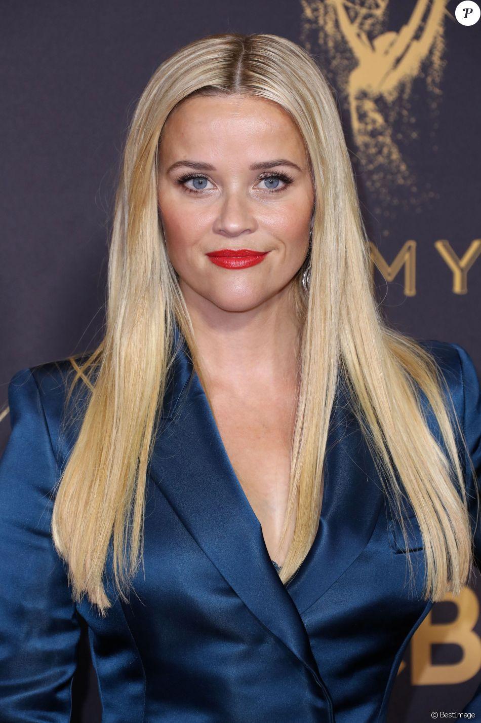 Reese Witherspoon - 69ème cérémonie des Emmy Awards au Théâtre Microsoft à Los Angeles. Le 17 septembre 2017.