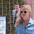 Reese Witherspoon est allée diner au restaurant The Ivy à Santa Monica, le 6 mai 2018