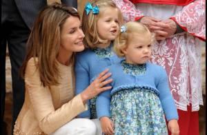 Letizia d'Espagne radieuse en famille avec ses petites filles irrésistibles !