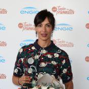 Géraldine Maillet et Sylvain Wiltord, vainqueurs du Roland-Garros des stars