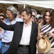 Carla Bruni et Nicolas Sarkozy... de vraies rockstars !