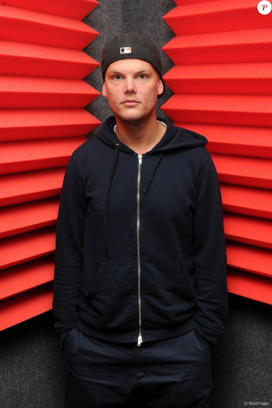 Le DJ Avicii sur Radio Y-100 à Fort Lauderdale le 12 février 2016.