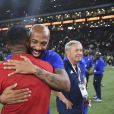 Thierry Henry - Les Bleus de France98 se sont imposés (3-2) face à une sélection FIFA 98 pour le match des légendes pour l'anniversaire des 20 ans du sacre mondial à la U Arena à Nanterre, France, le 12 juin 2018. © Bestimage