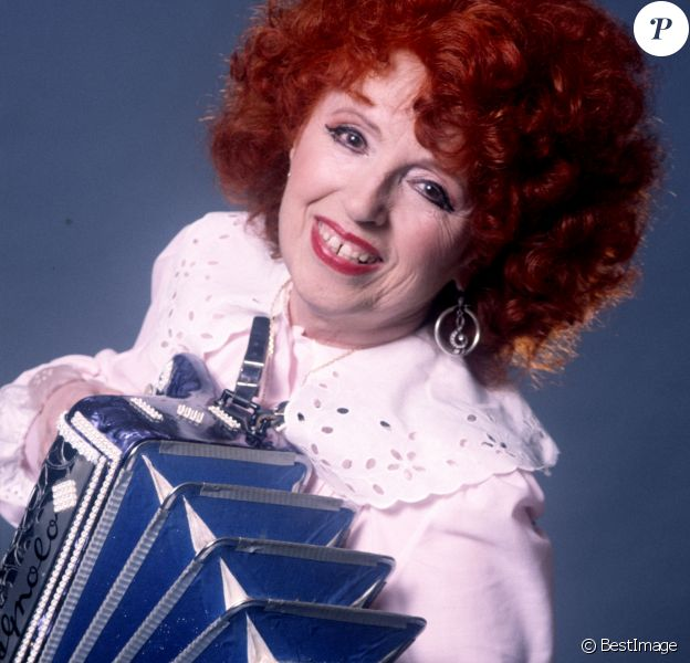 Yvette Horner, photo d'archives. La reine de l'accordéon est morte à 95 ans le 11 juin 2018.