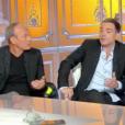 """Laurent Baffie tacle Christine Angot face à Yann Moix sur le plateau de """"Salut les Terriens"""" sur C8 le 16 juin 2018."""