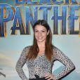 """La danseuse Denitsa Ikonomova (DALS) - Projection du nouveau Marvel """"Black Panther"""" au cinéma Grand Rex à Paris, France, le 7 février 2018. © Gorassini-Guirec/Bestimage"""