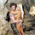 Shauna Sand et Greg Knudson sur la plage en février