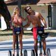 Shauna Sand et son futur ex-mari le français Romain Chavent