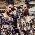 Rawell et Rania (Les Anges de la télé-réalité 9) sur Instagram. Juin 2018.