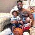 Les deux enfants de Tristan Thompson, Prince et True (photo postée le 22 juin 2018)