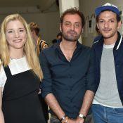 Natacha Régnier et Vincent Dedienne admiratifs chez Agnès B