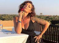 Emilie Nef Naf très décolletée à Marrakech : Une maman stylée !
