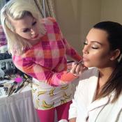 Kim Kardashian vire sa maquilleuse, elle réplique sur Instagram !