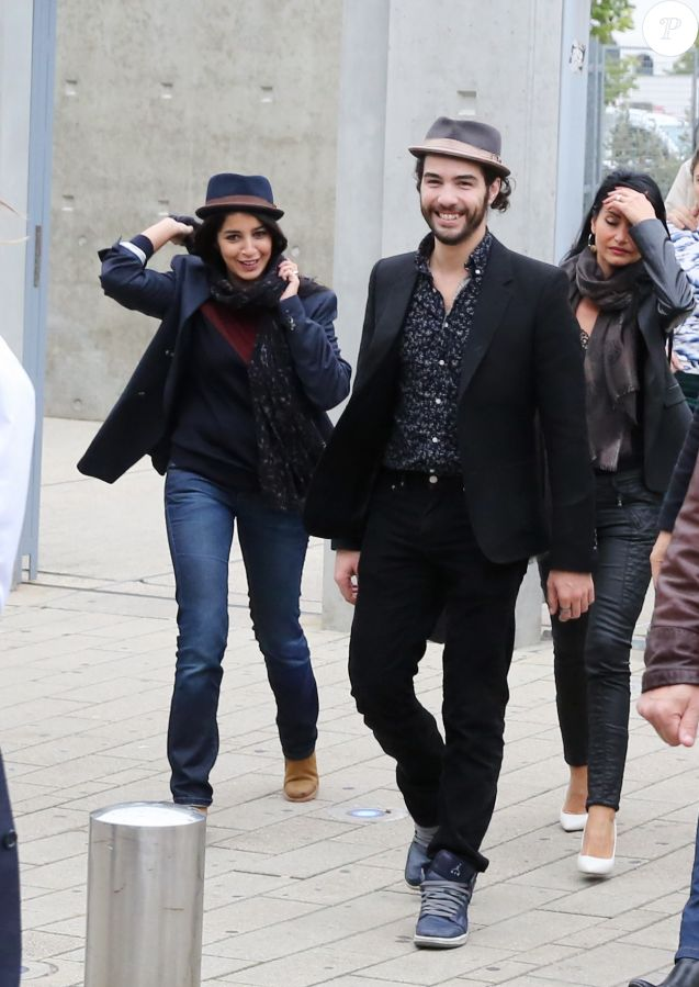 Leila Bekhti et Tahar Rahim à Lyon le 19 Octobre 2013