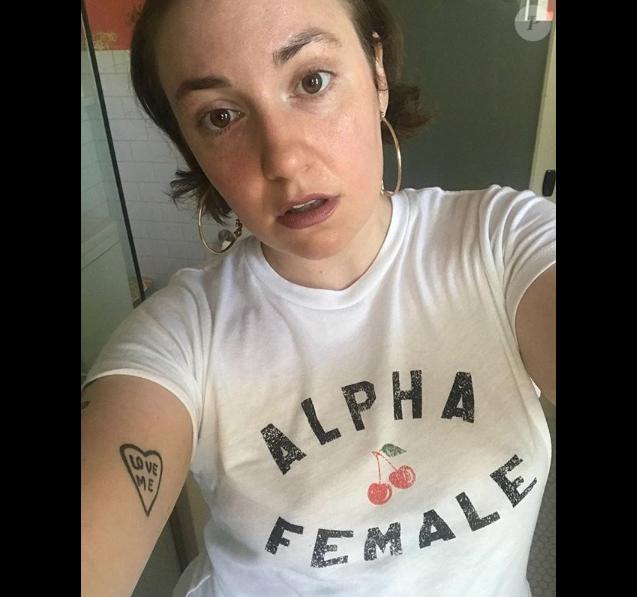Lena Dunham sur Instagram, le 1er juillet 2018.