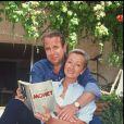 ARCHIVES - PAUL LOUP SULITZER ET SON AMIE VERONIQUE SUR LA COTE 16/07/1992 -