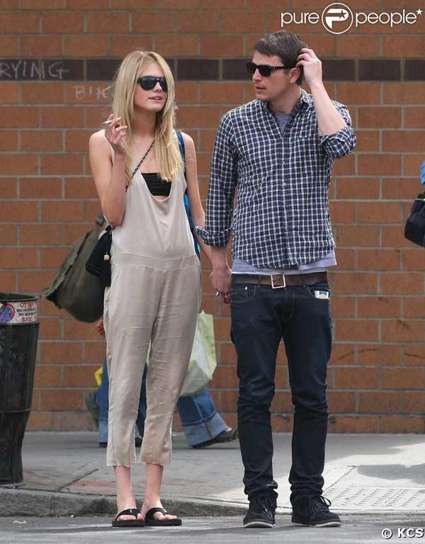 Josh Hartnett et sa nouvelle petite amie à New York